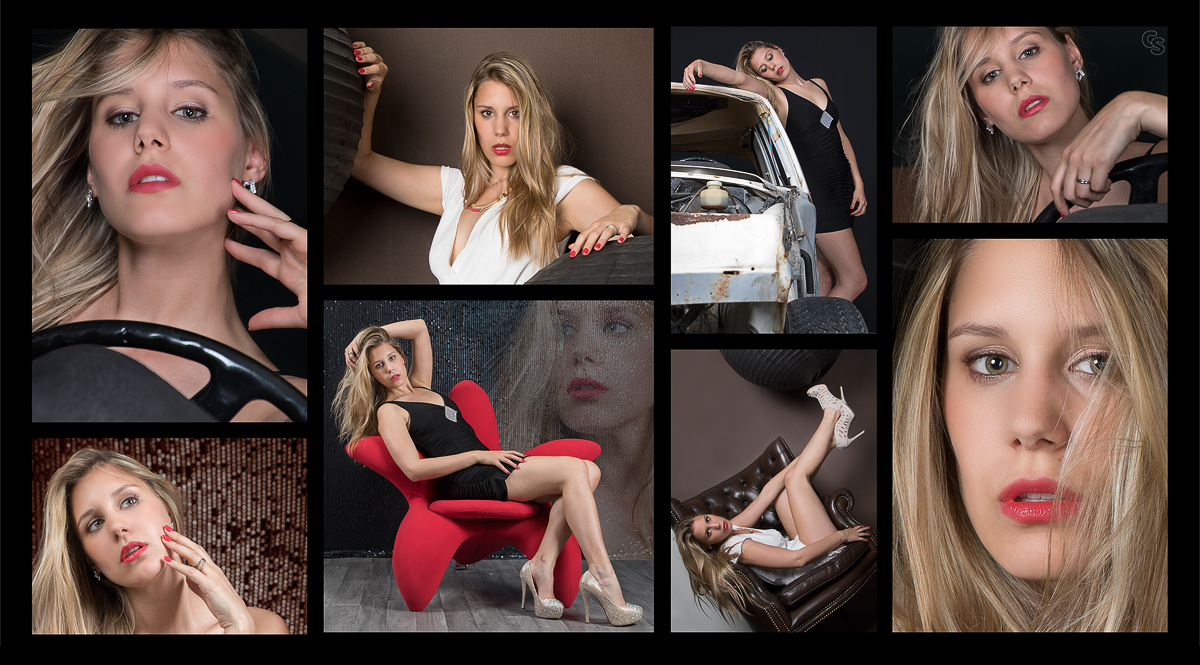 Model Collage Seraphina